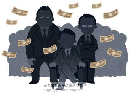 男性 お金 暴力団 ヤクザ 犯罪組織