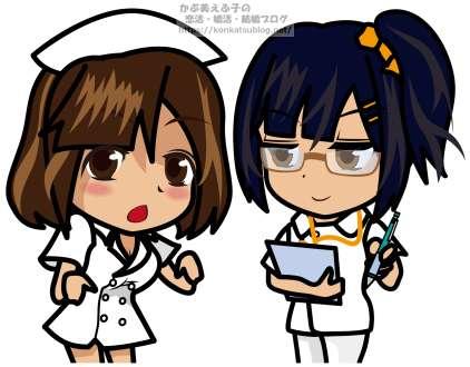 看護師 看護婦 女性 女の子