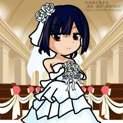 花嫁 女性 女の子 ウェディングドレス ブーケ