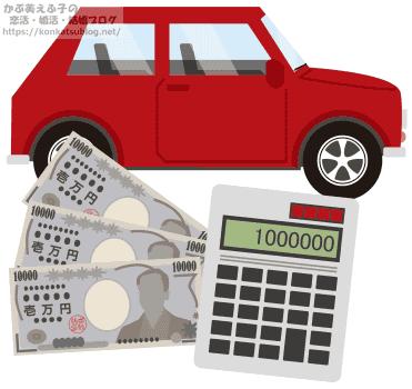 自動車 乗用車 軽自動車 値段 価格 金額